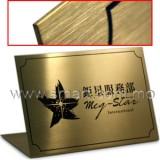 不鏽鋼鈦金L牌