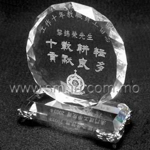 水晶紀念座