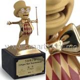人形樹脂獎座