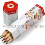 木顏色筆筒